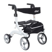 rolling walker with seat